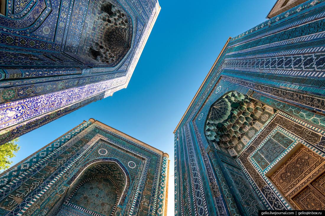 Фото Самарканд Мемориальный комплекс Шахи Зинда