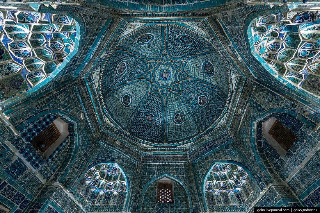 Фото Самарканд Купол мавзолея Шади-Мульк-ака