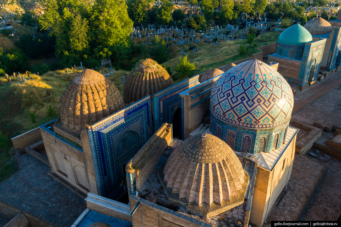 Фото Самарканд Средняя группа мавзолеев