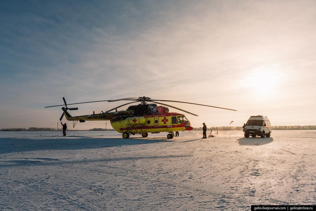 Санитарная авиация в Новосибирской области