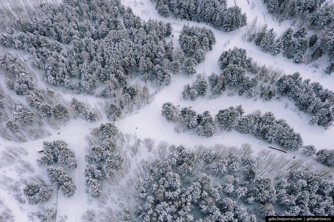 Зимний Сургут Парк За Саймой