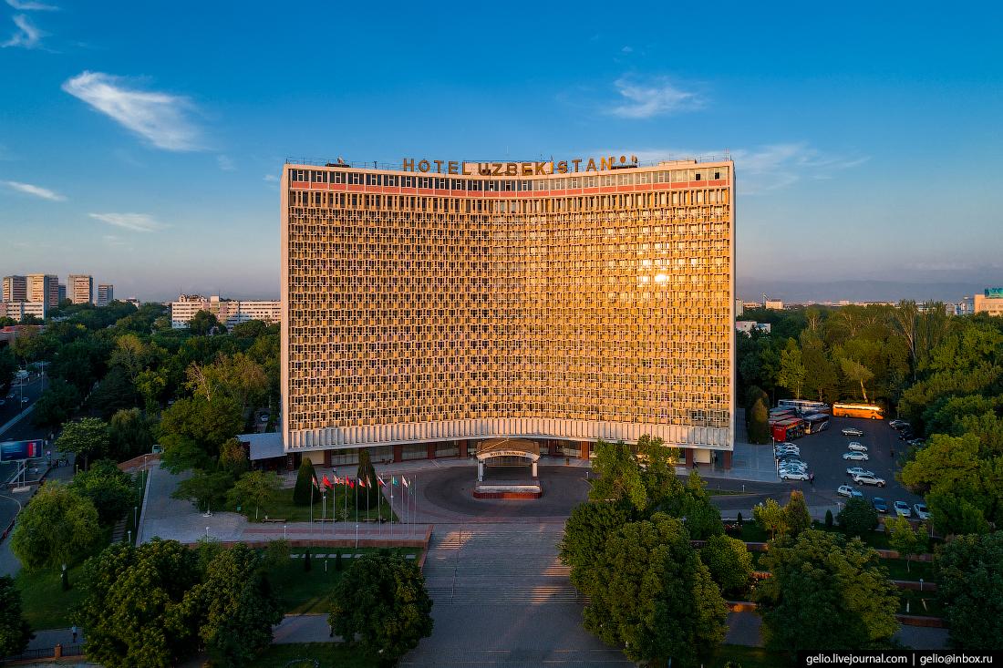 Ташкент с высоты