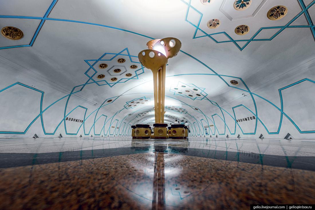 Ташкентский метрополитен Бодомзор