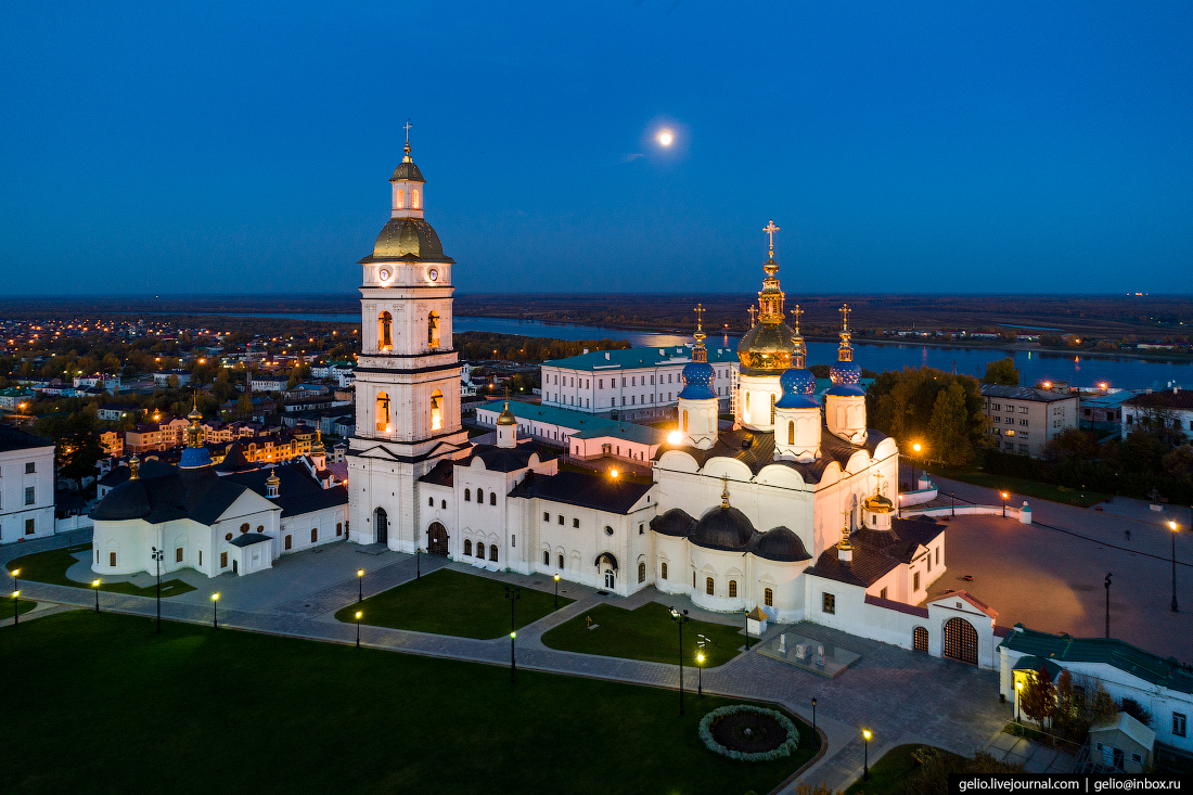 Фото Тобольск с высоты, Храм Сергия Радонежского