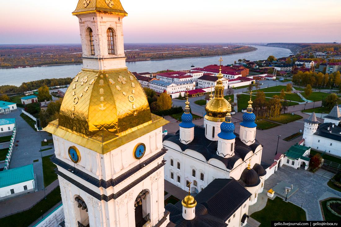 Фото Тобольск, колокольня Софийско-Успенского