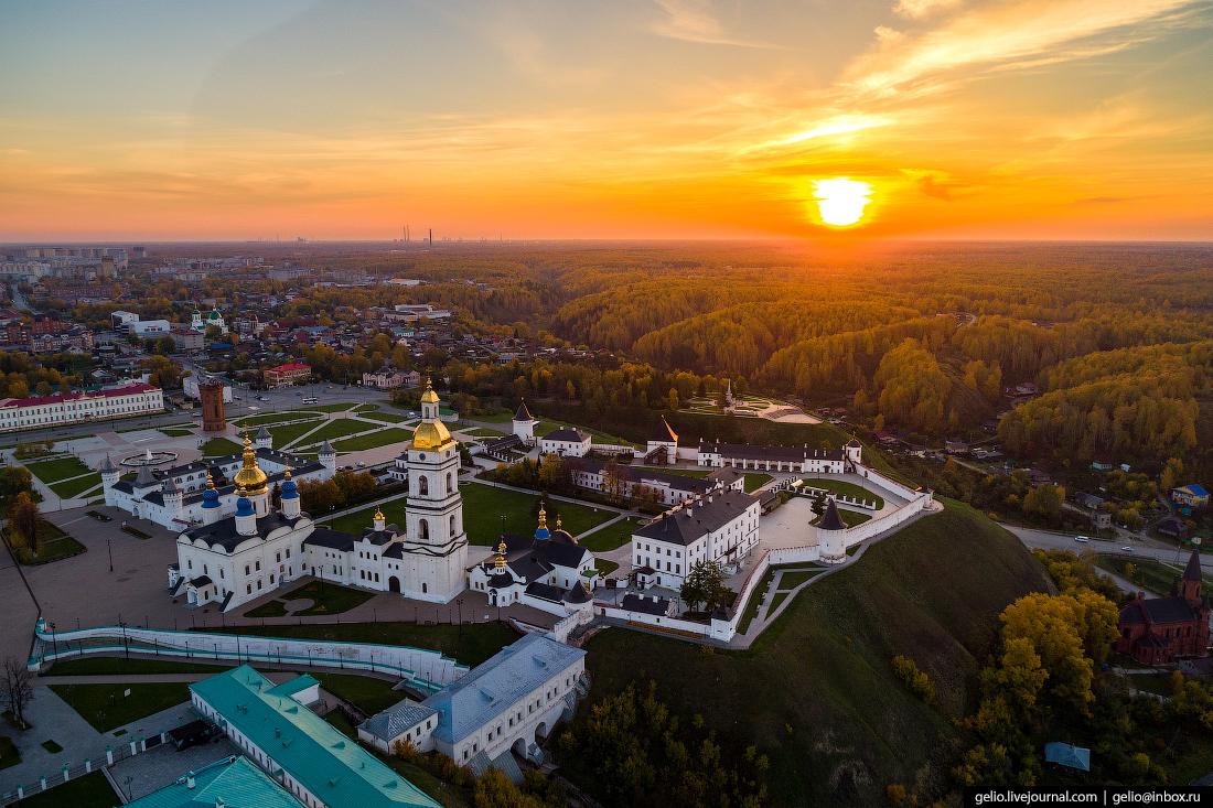 Фото Тобольск с высоты