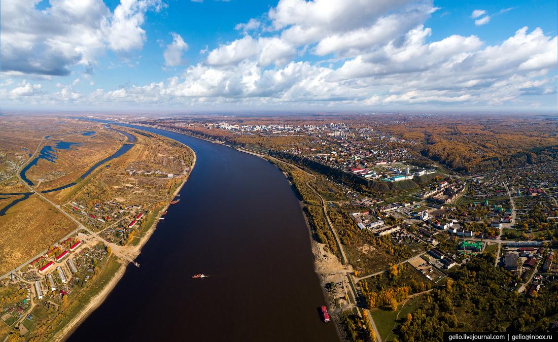 Тобольск, Паромная переправа через Иртыш