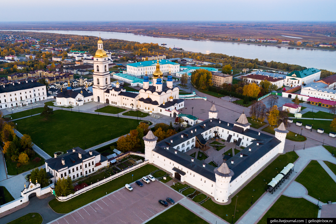 Фото Тобольск с высоты, Гостиный двор