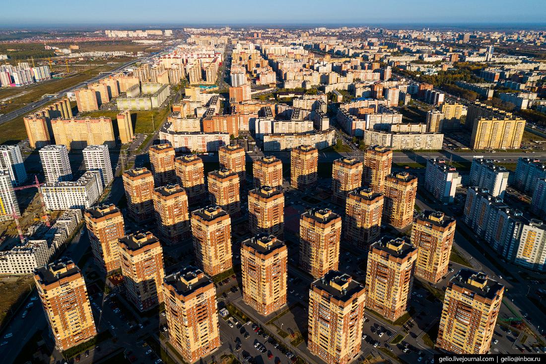 Тюмень с высоты: первый русский город Сибири