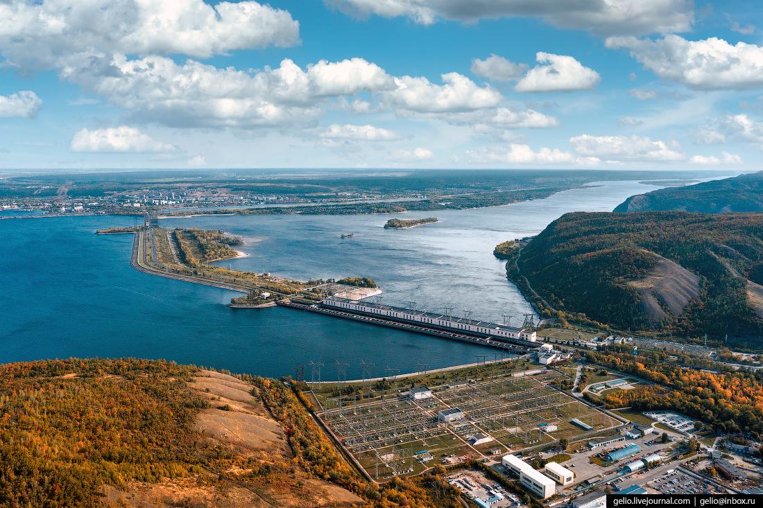 тольятти, Жигулевская ГЭС, русгидро, волга