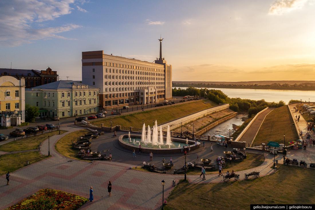 Томск с высоты Ушайка