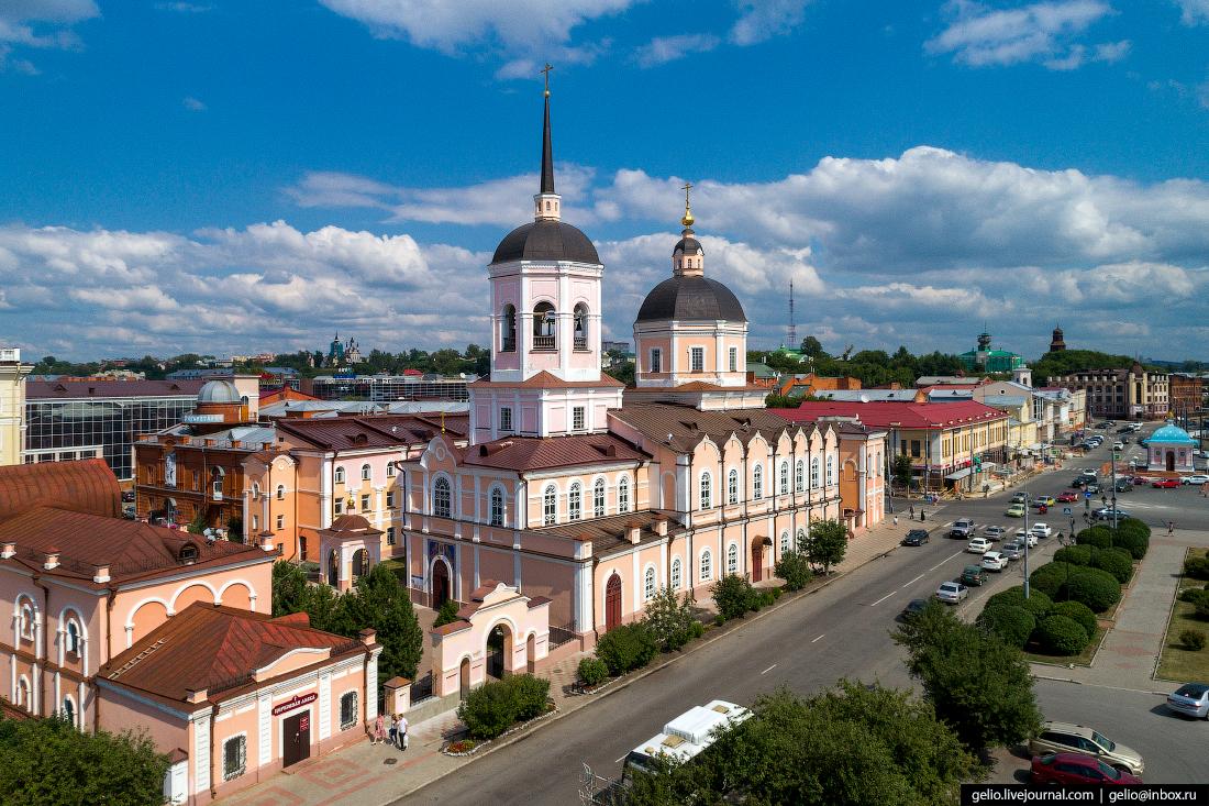 Томск Богоявленский собор