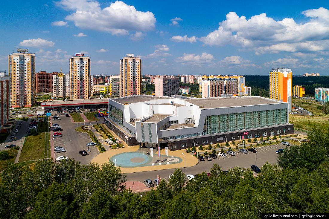 Томск с высоты Звёздный