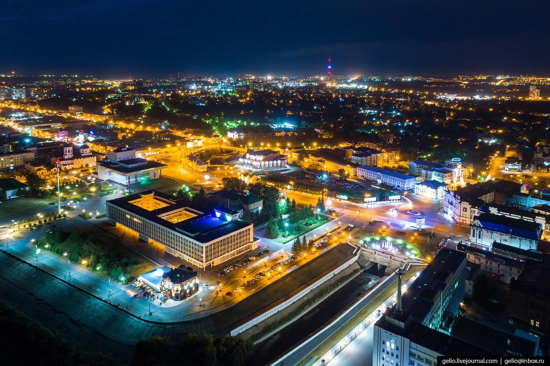 Томск с высоты