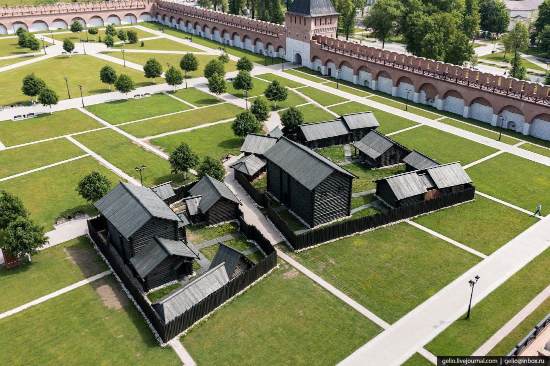 тула с высоты, осадные дворы, тульский кремль