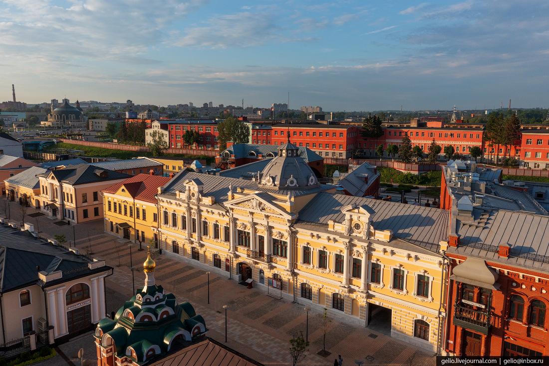 тула с высоты, Государственный исторический музей, улица металлистов