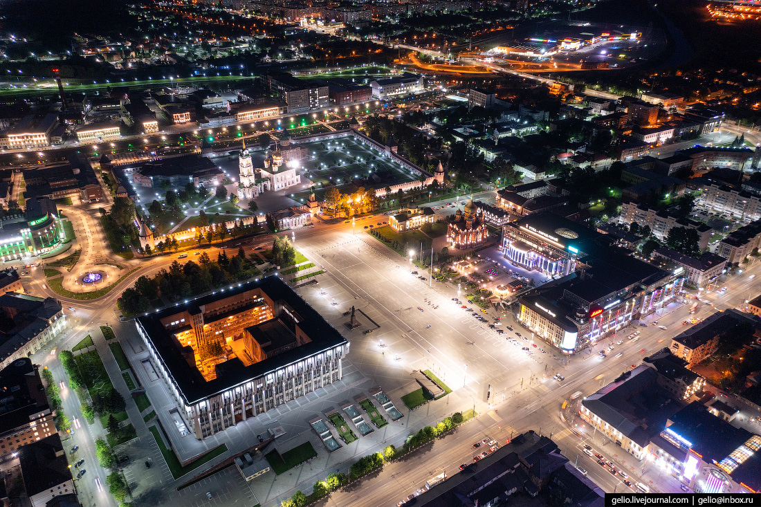 тула с высоты, Площадь Ленина