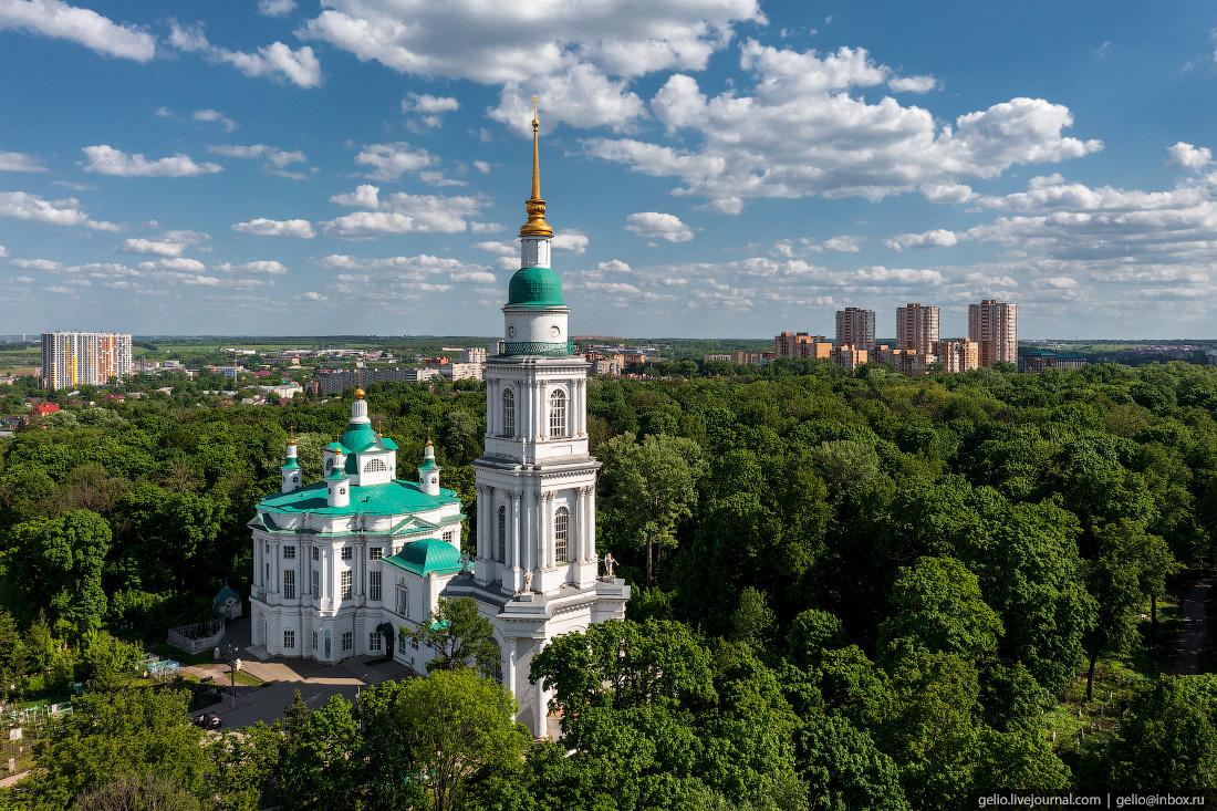 тула с высоты, Всехсвятский собор