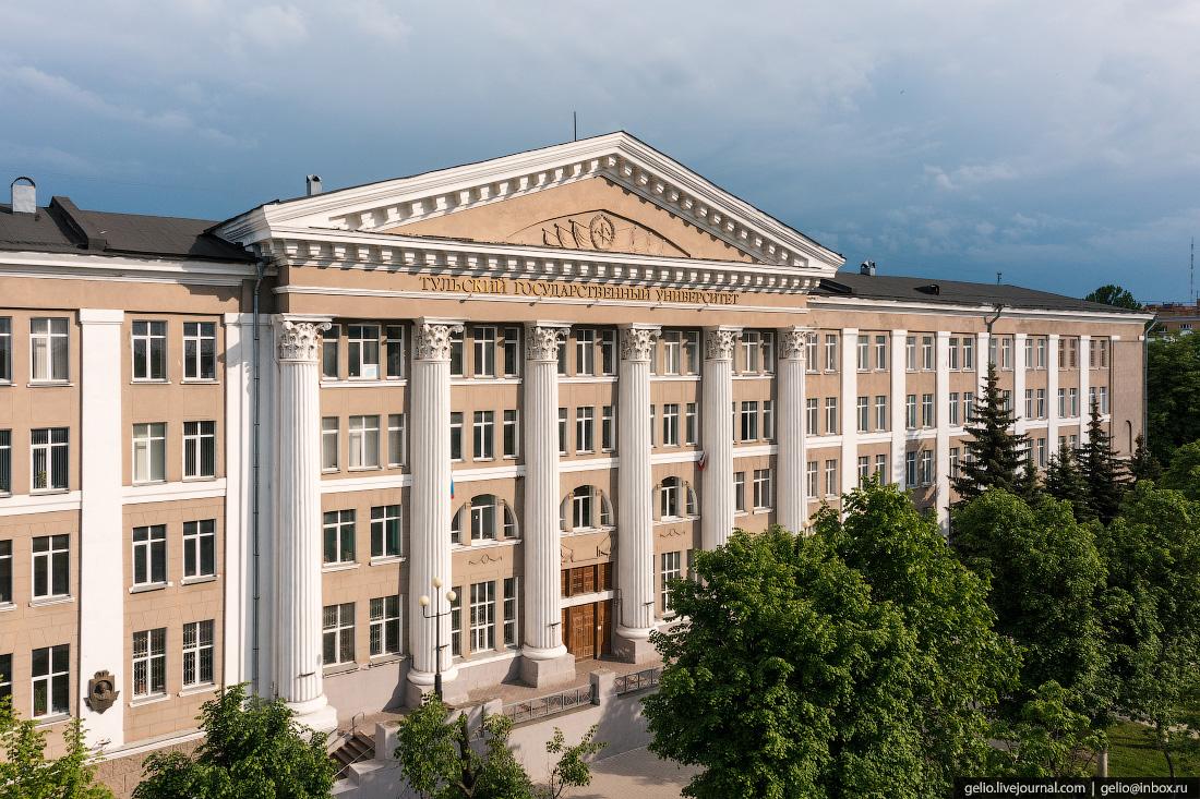 тула с высоты, Тульский Государственный университет