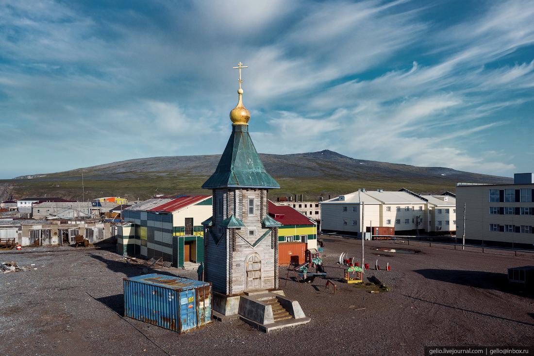 уэлен, самый восточный населенный пункт, чукотка, часовня