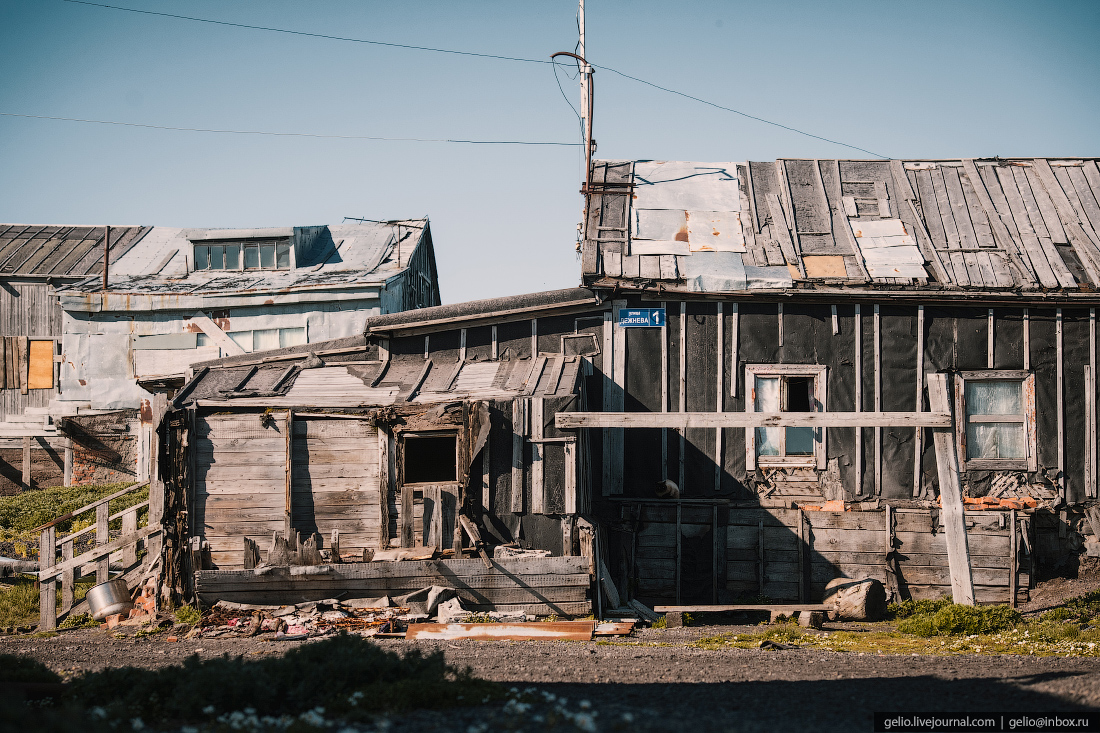 уэлен, Самый восточный жилой дом в России
