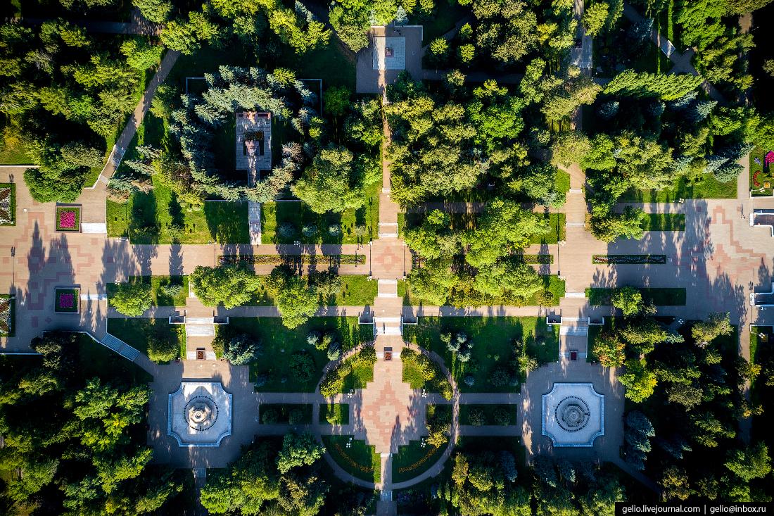 Уфа с высоты, Парк имени Ленина