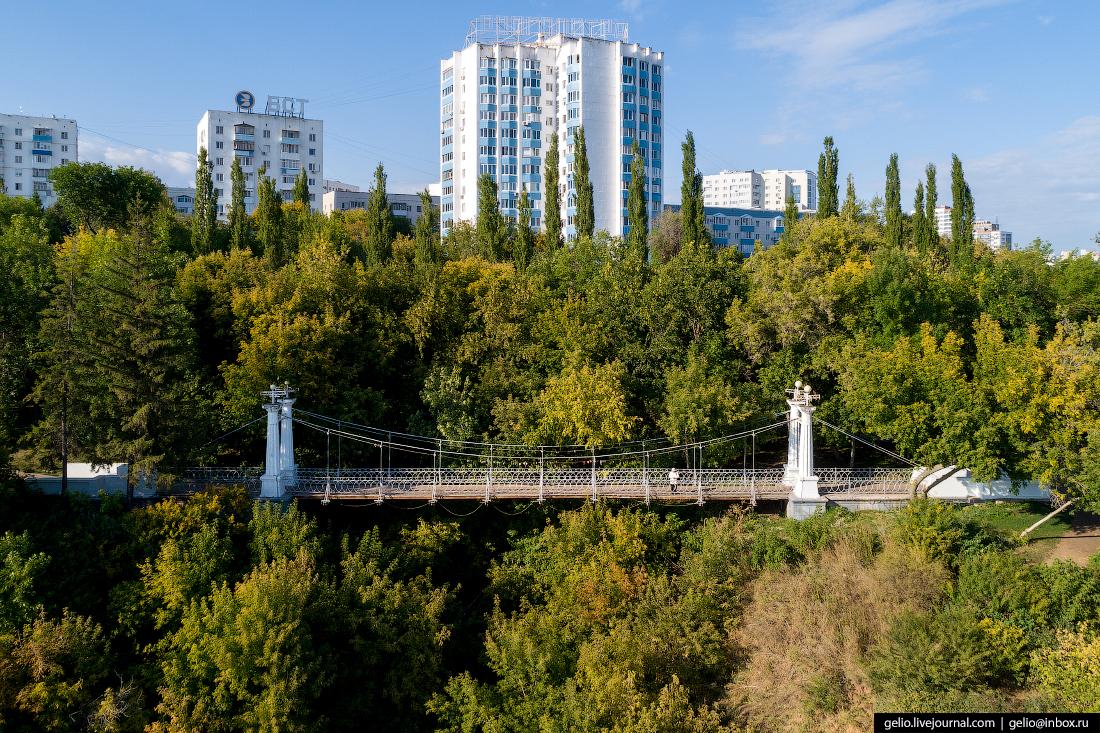Уфа с высоты, Сад Салавата Юлаева