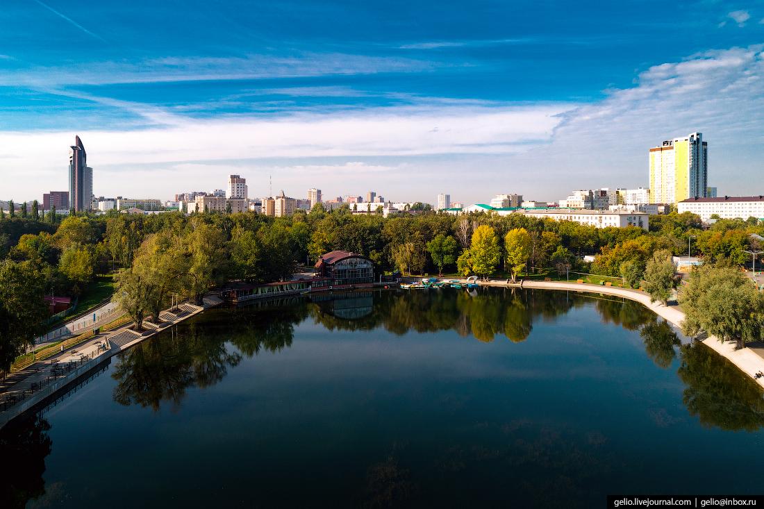 Уфа с высоты, Озеро Солдатское