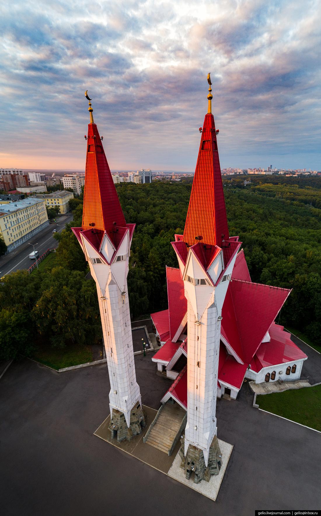 Уфа, мечеть Ляля-Тюльпан