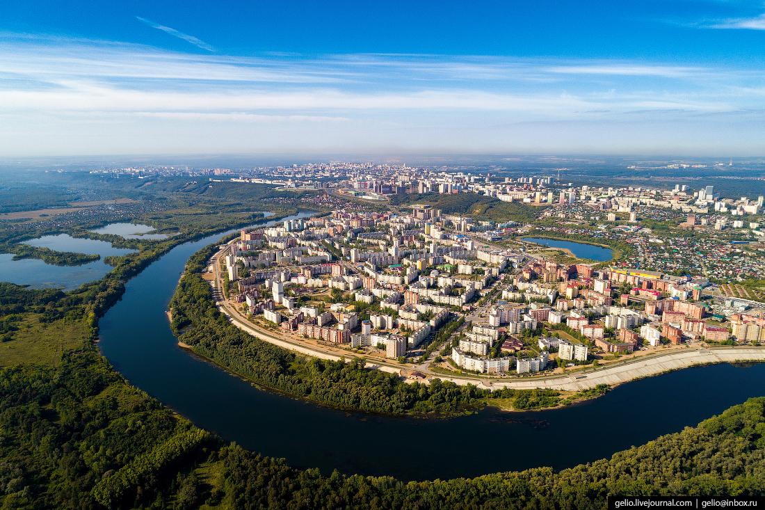 Уфа с высоты: город Шевчука, Земфиры и Фэйса