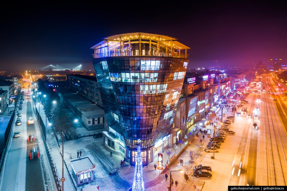 Деловой центр европа, Улан-Удэ с высоты
