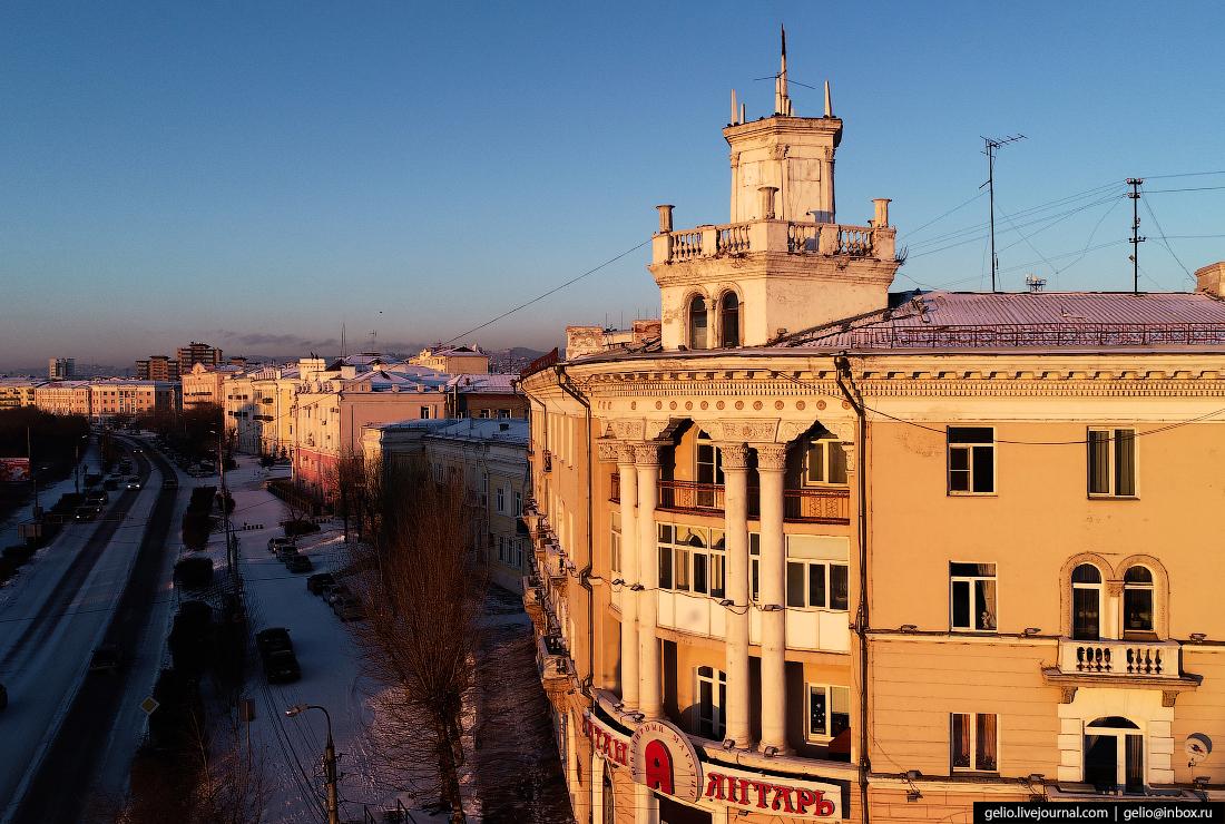 Улан-Удэ с высоты