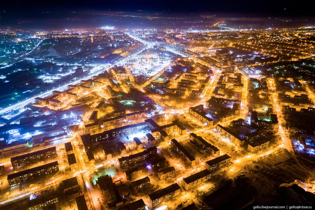 Социальный город ПВЗ, Улан-Удэ с высоты