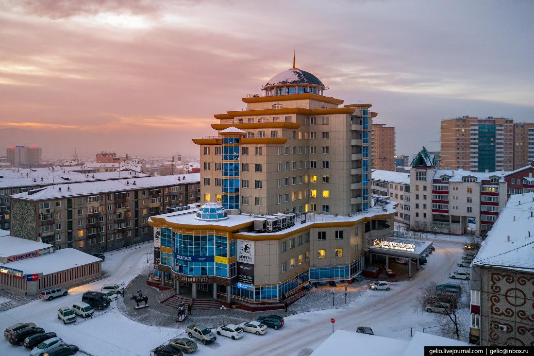 бц борсоева, Улан-Удэ с высоты