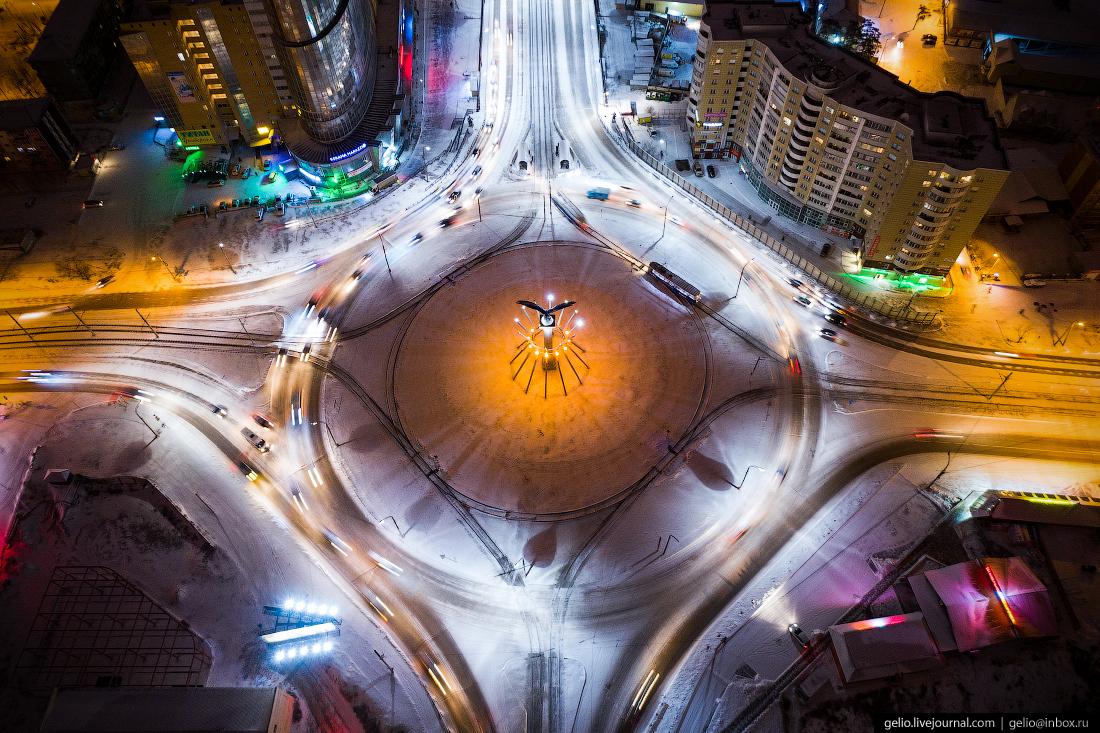 Транспортное кольцо, Улан-Удэ с высоты