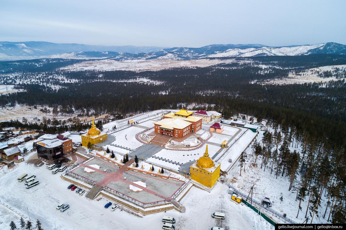 Ринпоче-Багша, Улан-Удэ с высоты