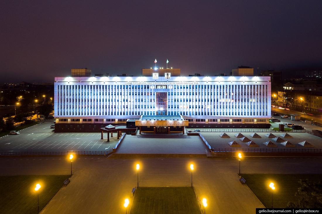Южно-Сахалинск Дом правительства Сахалинской области
