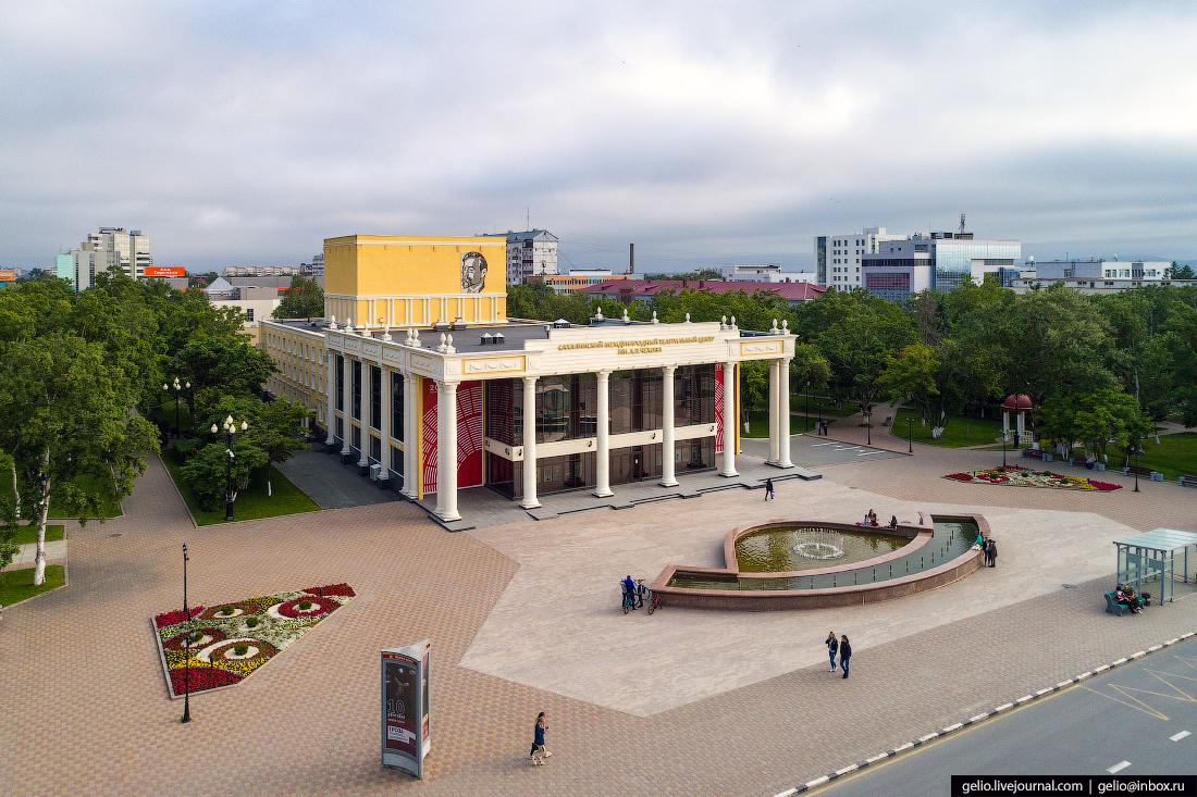 Чехов-центр Южно-Сахалинск