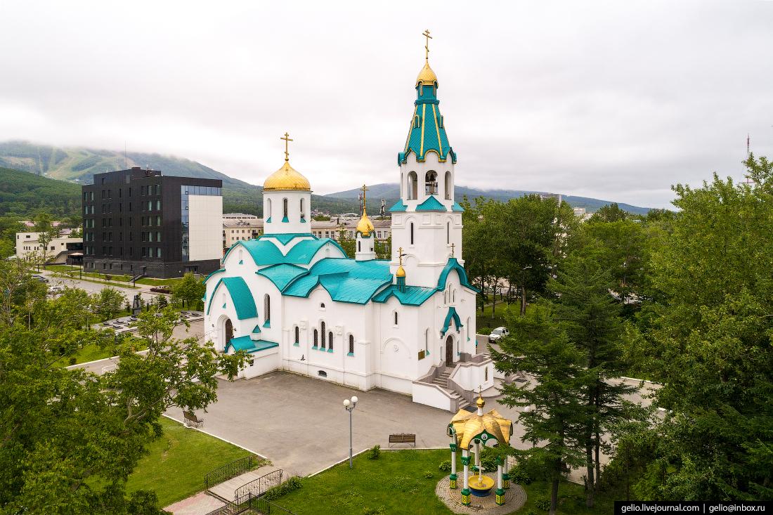 Южно-Сахалинск Храм Воскресения Христова