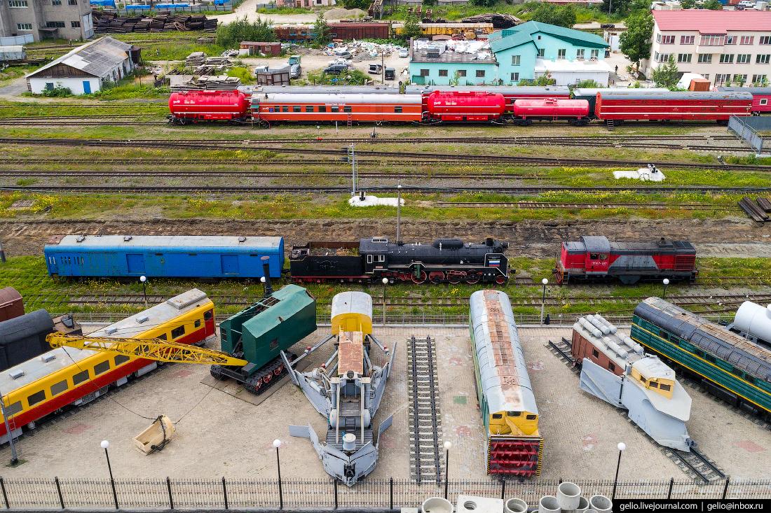 Южно-Сахалинск Музей железнодорожной техники