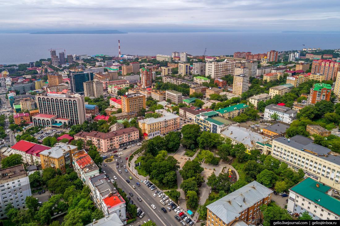фотографии города владивостока весь город всего