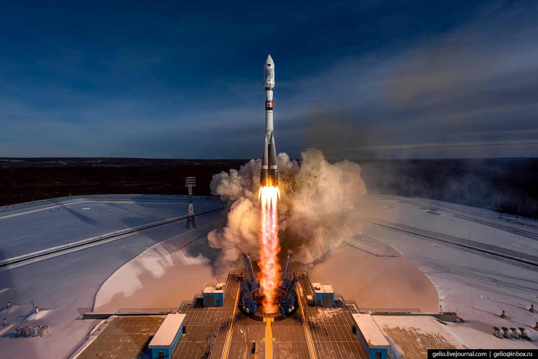 The Vostochny Cosmodrome: Launch of the Soyuz-2.1a Launch Vehicle