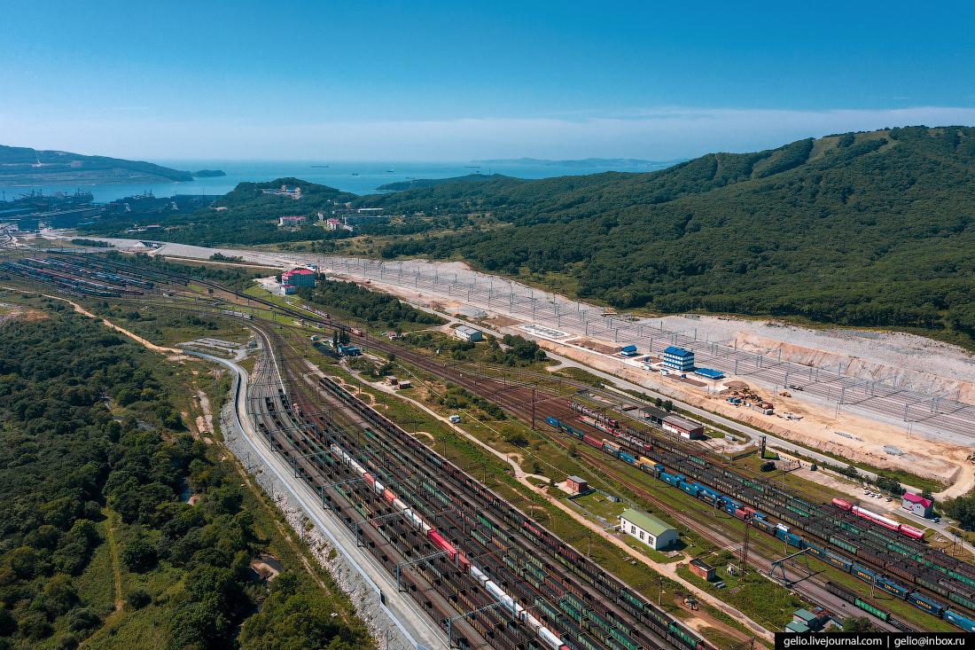 восточный порт, врангель, сортировочная станция, ржд, угольный терминал