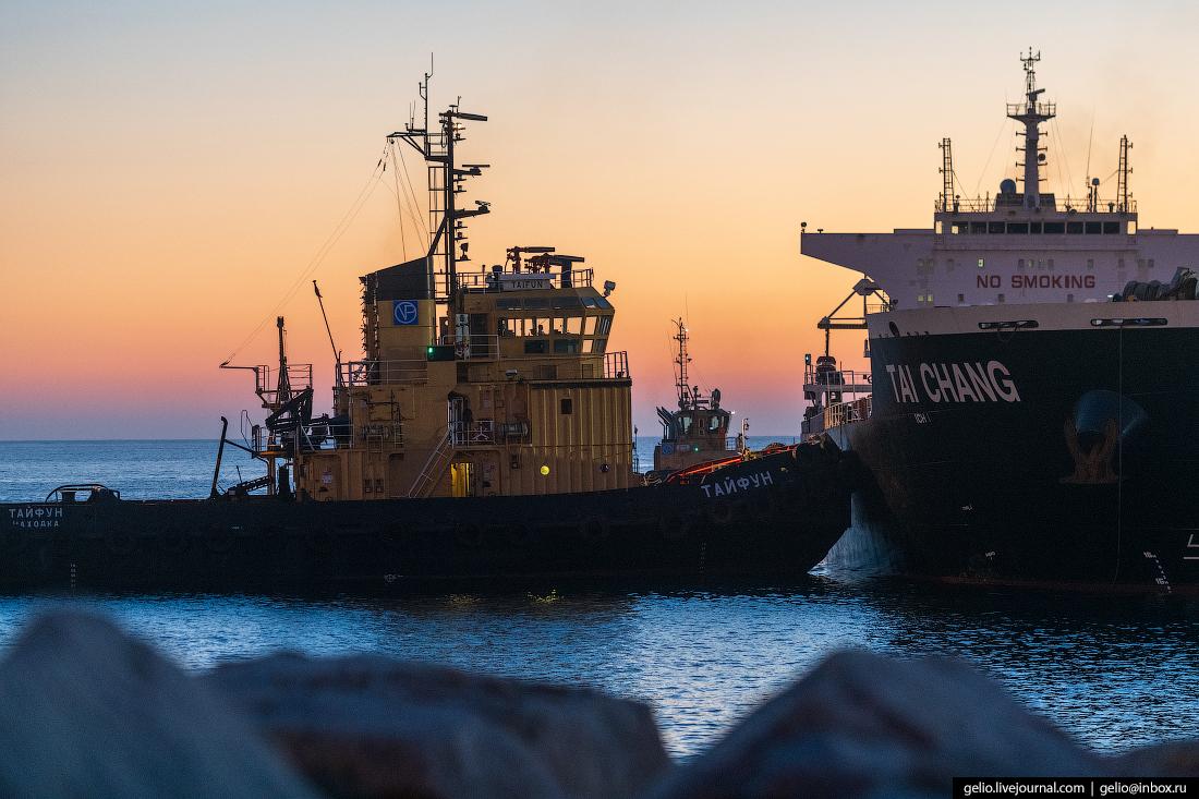 восточный порт, буксир, врангель, угольный терминал