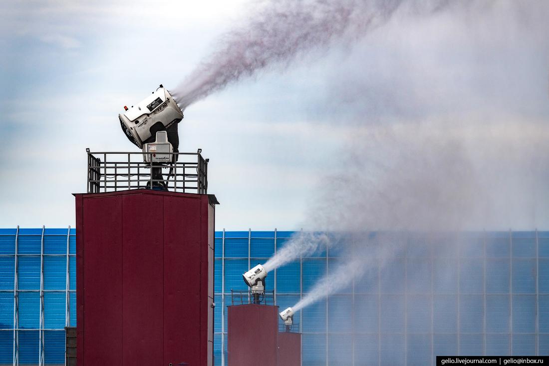 восточный порт, пылеподавление, снегогенератор, врангель, угольный терминал