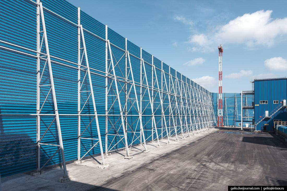 восточный порт, Стена для ветрозащиты, врангель, угольный терминал