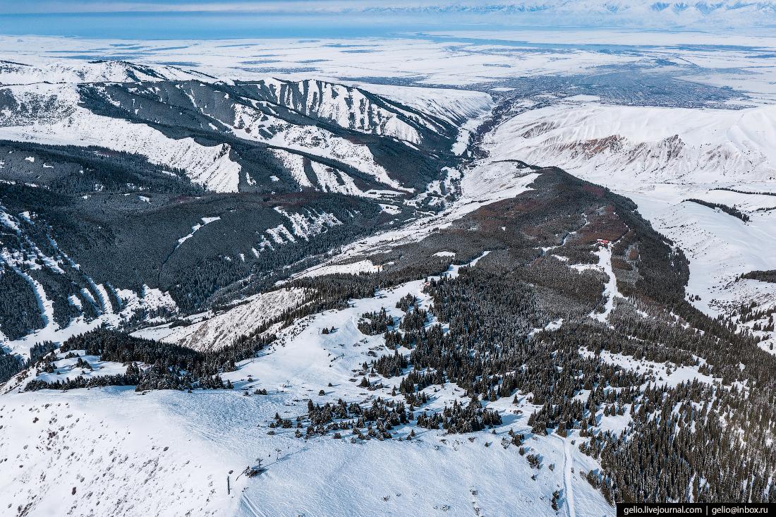 Зимний Кыргызстан Каракол