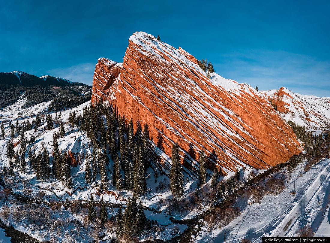 Зимний Кыргызстан Джеты-Огуз