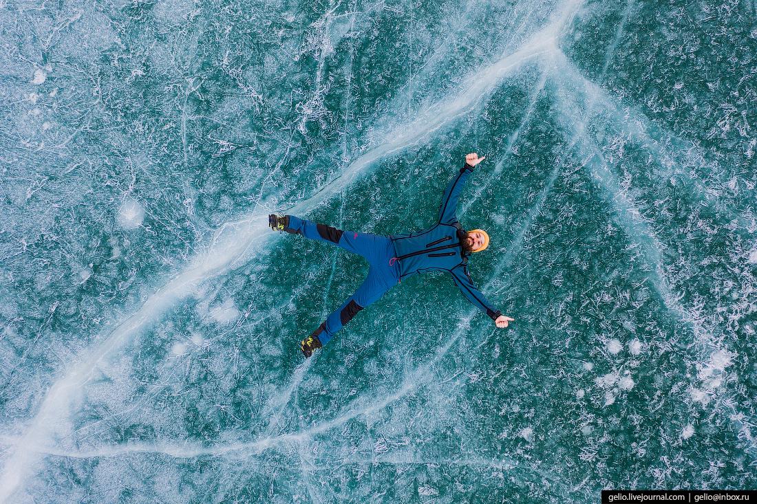 Зимний Кыргызстан Орто-Токойское водохранилище