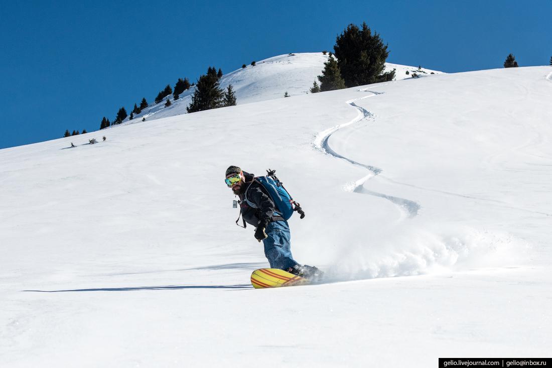 Зимний Кыргызстан